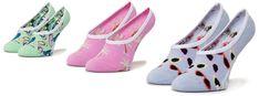 Zestaw 3 par stopek dziecięcych VANS - Brand Striper Canoodles VN0A4DS24481 r.31.5-36 Multi