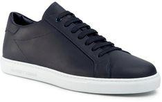 Sneakersy EMPORIO ARMANI - X4X272 XF375 00024 Ocean