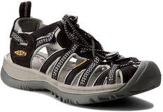 Sandały KEEN - Whisper 1008448 Black/Neutral Gray