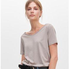 Bluzka damska Reserved casualowa z krótkimi rękawami bez wzorów