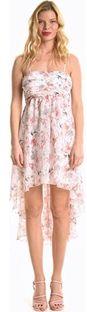 Sukienka Gate mini asymetryczna na lato na ramiączkach