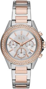 Zegarek ARMANI EXCHANGE - Lady Drexler AX5653 Silver/Rose Gold