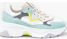 Buty sportowe damskie Goe w stylu młodzieżowym na płaskiej podeszwie wiązane