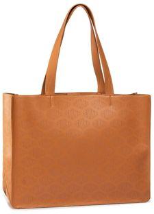 Torebka SILVIAN HEACH - Shopper Bag Sh Silvia(With Logo) RCP20010BO Beige/Green Gossamer W1531