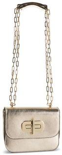 Torebka TOMMY HILFIGER - Turnlock Mini Crossover Gold AW0AW07423 TDQ