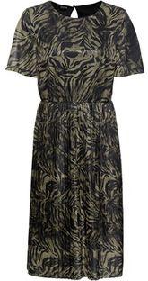 Sukienka Bonprix mini z krótkim rękawem z okrągłym dekoltem