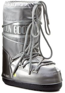 Śniegowce MOON BOOT - Glance 14016800002  Silver M