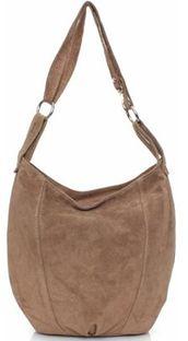 Shopper bag Genuine Leather brazowy