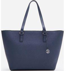 Shopper bag House z breloczkiem na ramię