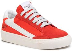 Sneakersy GUESS - Luiss Jr FI6LUJ FAP12 R RED