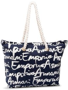 Torebka EMPORIO ARMANI - 262653 0P821 19834 All Over Ea Blue