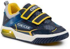 Sneakersy GEOX - J Inek B. A J029CA 014BU C0657 S Navy/Yellow