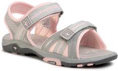 Sandały KANGAROOS - K-Lane 18491 000 2063 D Vapor Grey/Frost Pink