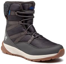 Śniegowce JACK WOLFSKIN - Polar Bear Texapore High K 4036142  Phantom/Off White