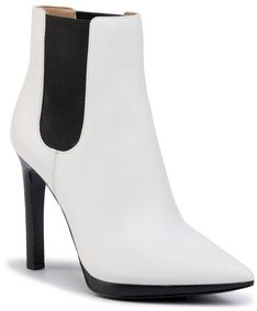 Botki MICHAEL MICHAEL KORS - Brielle Bootie 40R0BIHE5L Optic White