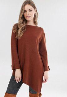 Brązowy Sweter Jynsyss