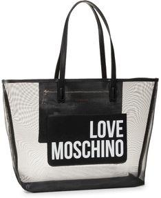 Torebka LOVE MOSCHINO - JC4245PP0AKH100A  Fabric Nero