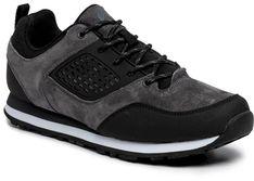 Sneakersy ELBRUS - Atilo  Dark Grey/Black