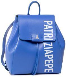 Plecak PATRIZIA PEPE - 2V9112/A6P6-FA85 Blue Sea/White