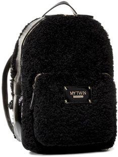 Plecak MY TWIN - Zaino 192MO8080 Nero 00006