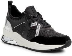Sneakersy LIU JO - Karlie 36 BA0013 TX086 Black 22222