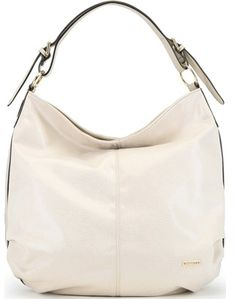 Shopper bag beżowa Wittchen na ramię bez dodatków