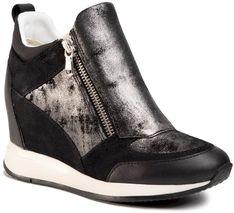 Sneakersy GEOX - D Nydame E D020QE 07722 C9999 Black