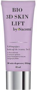 Nacomi Bio 3D Skin Lift, liftingujący koktajl do twarzy, 3w1, 85 ml
