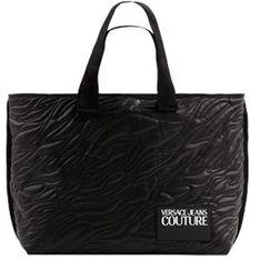 Shopper bag Versace Jeans pikowana mieszcząca a5