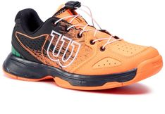 Buty WILSON - Kaos Junior Ql WRS327080 Ch Orange/Black/Amazon