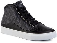 Sneakersy GUESS - Larry Hi FM5LRH FAL12 BROWN/OCRA