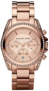 Zegarek MICHAEL KORS - Blair MK5263 Rose Gold/Rose Gold
