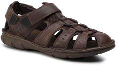 Sandały LASOCKI FOR MEN - MI08-C271-320-13 Chocolate Brown