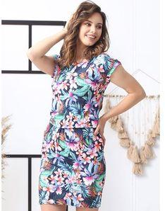 Sukienka Grandio dresowa na spacer