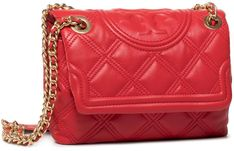 Torebka TORY BURCH - Fleming Soft Small Convertible Shoulder Bag 58102 Brilliant Red 612