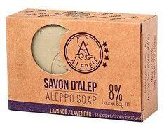 Alepeo, mydło w kostce Lavender, 100 g