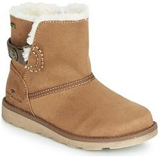 Buty zimowe dziecięce Tom Tailor brązowe na zimę