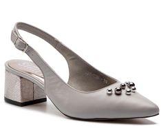 Sandały SIMEN - 1538A Ns Szary