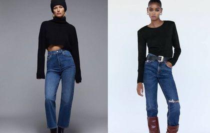 Wyprzedaż w ZARZE: jeansy z wysokim stanem -40%, a prosty longsleeve za mniej niż 30 złotych!