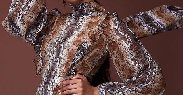 Trendy z wybiegu: Zwierzęce motywy rządzą na wybiegach! Sukienkę w takim stylu kupisz w znanej sieciówce. Nie kosztuje zbyt wiele
